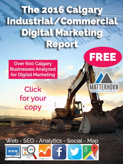 Calgary Digital Marketing Research Report 2016