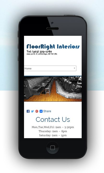 Calgary Mobile Phone Website Design