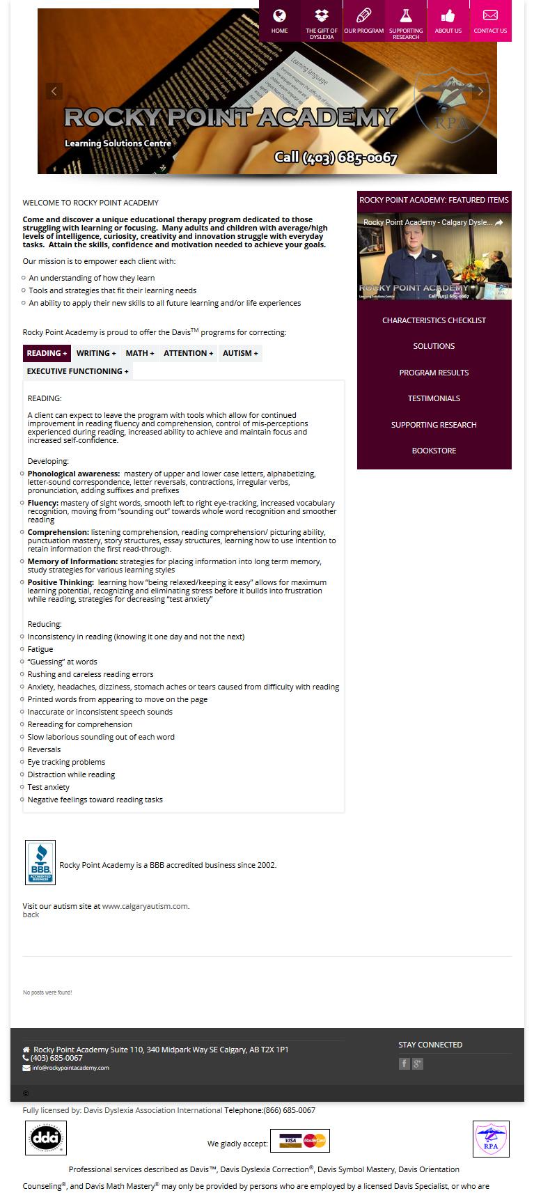 mobile friendly website designer Calgary