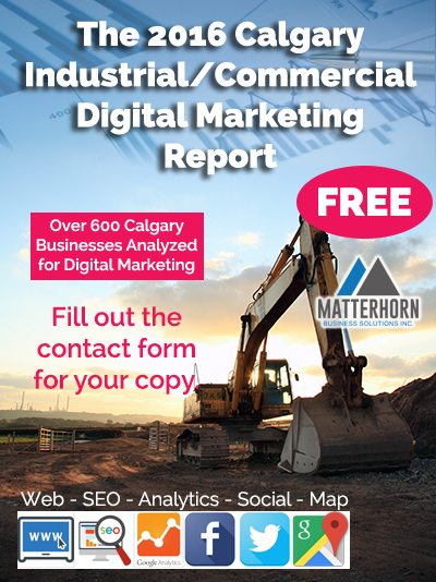 Calgary Industrial Commercial Marketing Research Report 2016