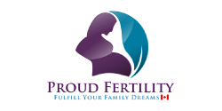 Calgary public relations services clients proud fertility logo