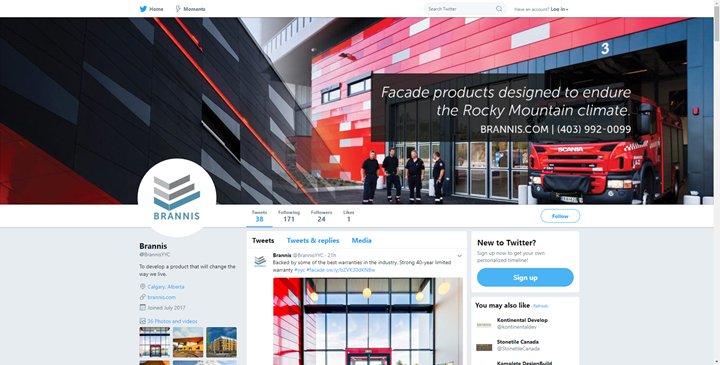 calgary social media marketing twitter brannis