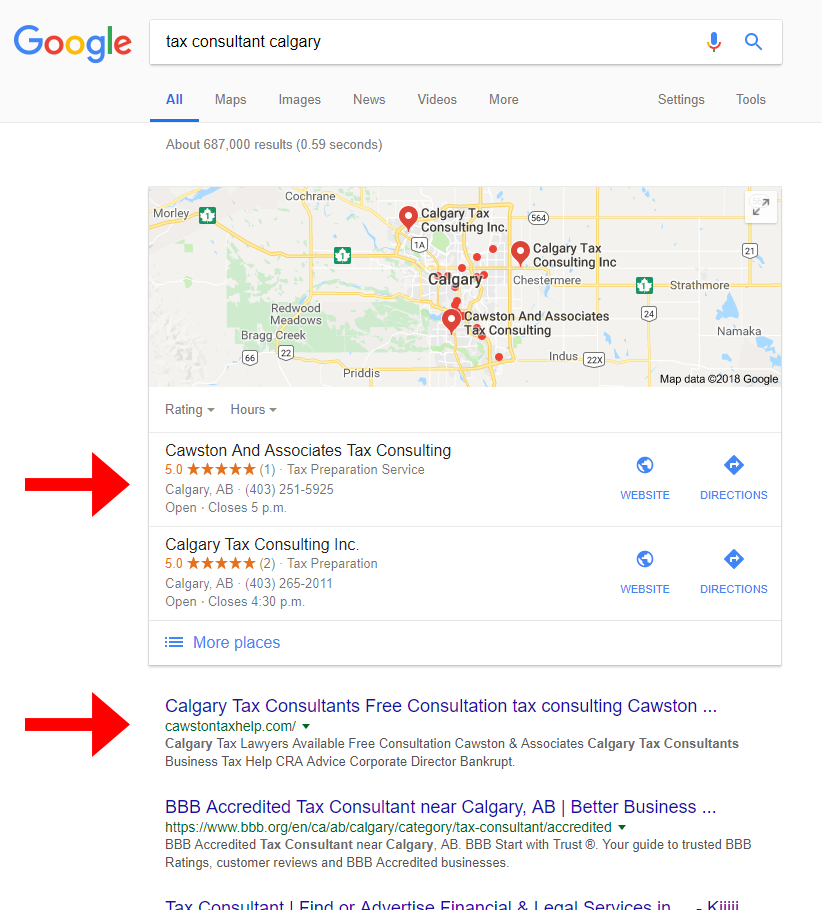 Calgary SEO Services let us help you rank on the first page of Google