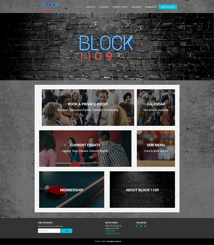 website design calgary client block1109