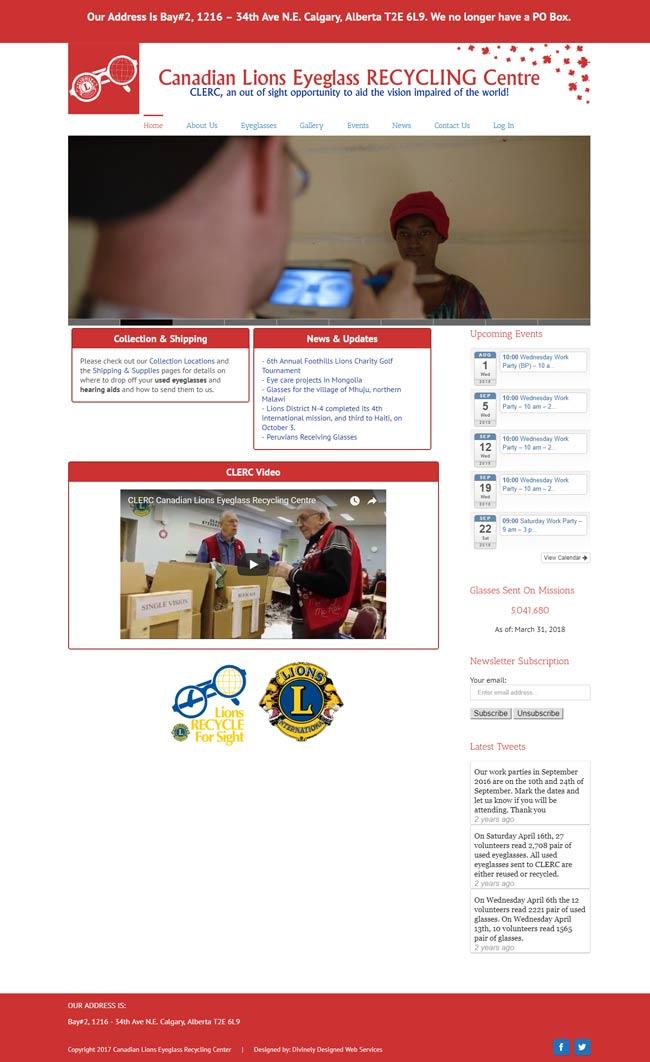 calgary webdesign service clerc