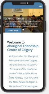 mobile web design calgary AFCC