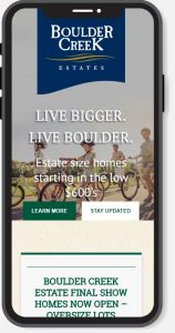 mobile webdesign services boulder creek